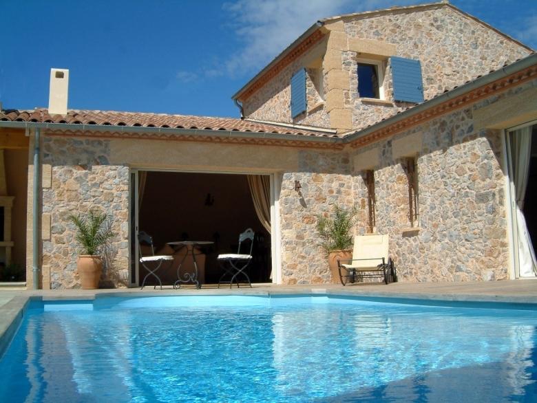 Villa La Cascade   Villa Holiday Rental, In Durban Corbieres, Aude, France
