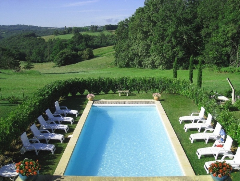 Combe Claire   Country House Holiday Rental, In Sarlat La Caneda, Dordogne,  France