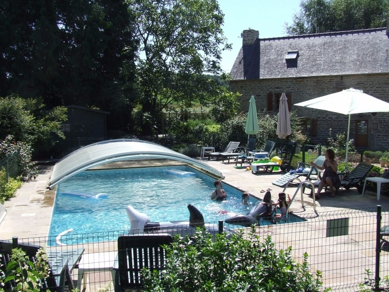 Awesome Gite Michel 3 Bedrooms   Gîte Holiday Rental, In Josselin, Morbihan, France
